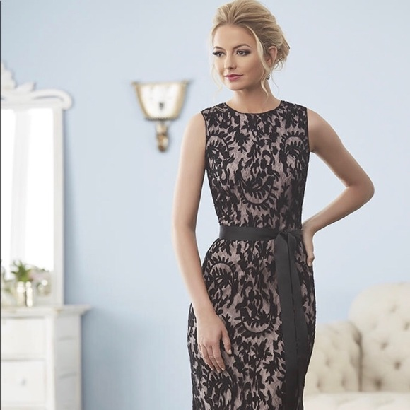 Adrianna Papell Dresses | Burnout Lace Gown | Poshmark